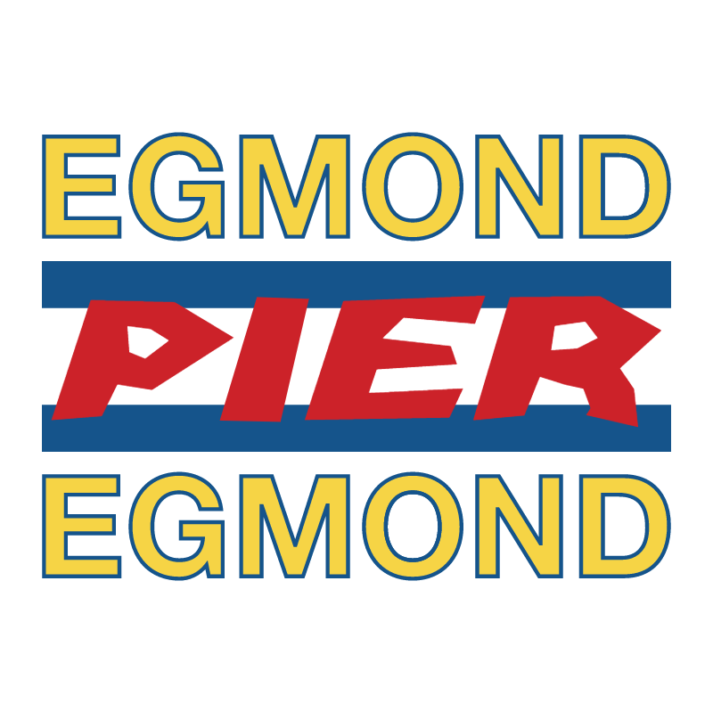 Egmond Pier Egmond vector
