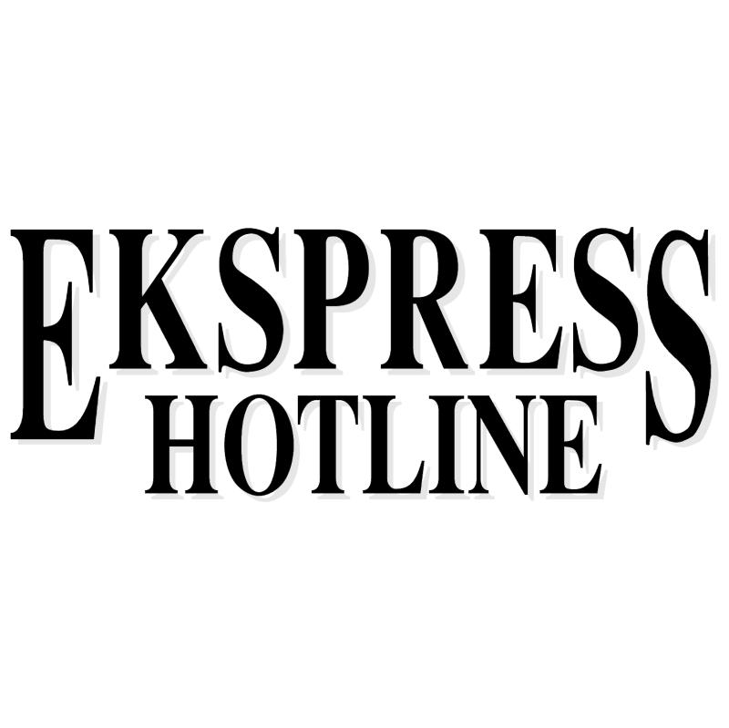 Ekspress Hotline vector logo