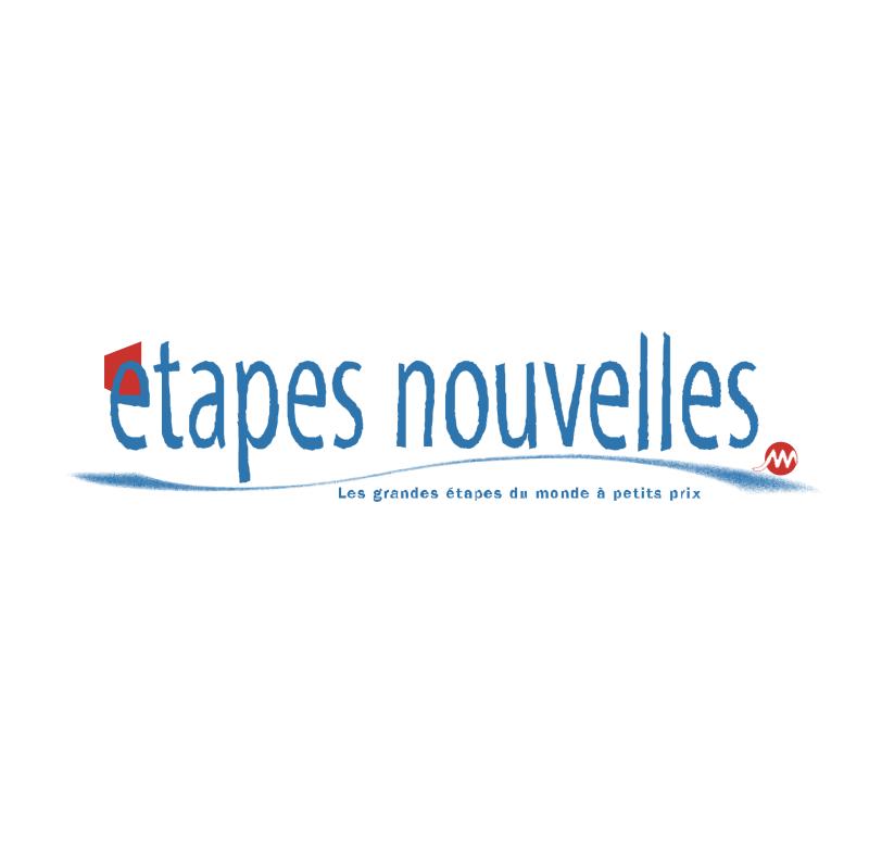 Etapes Nouvelles vector