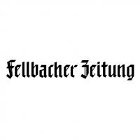 Fellbacher Zeitung vector