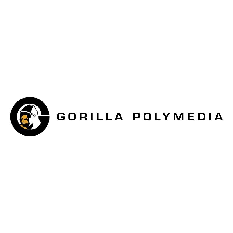 Gorilla Polymedia vector