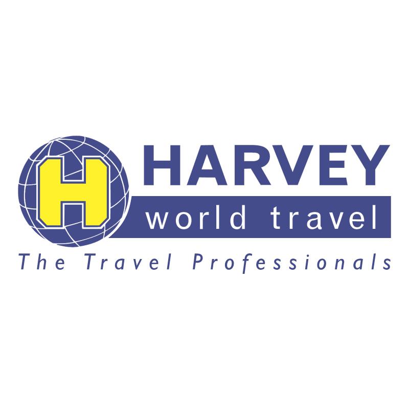 Harvey World Travel vector