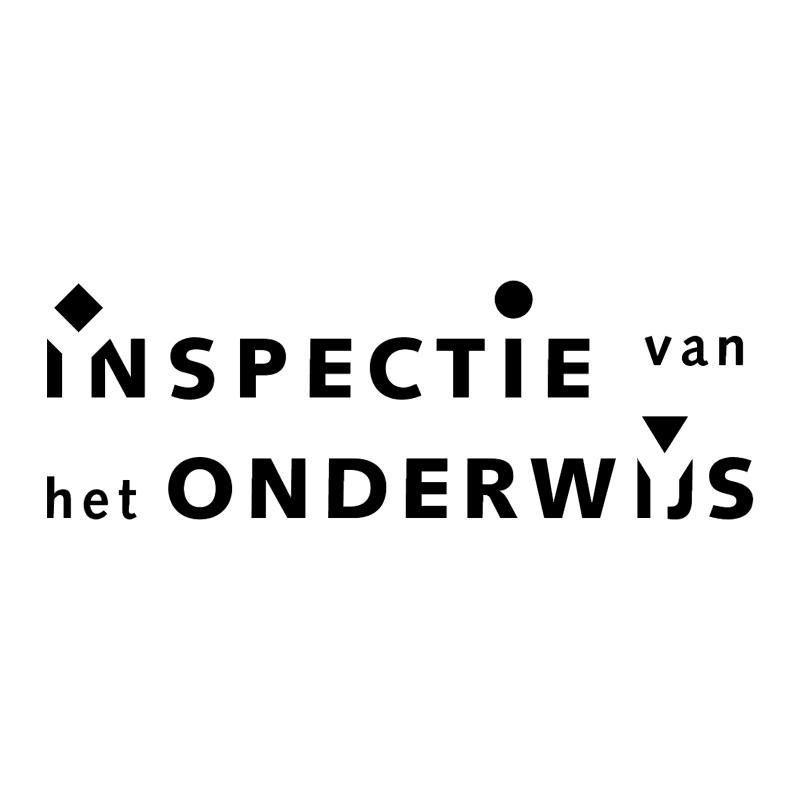 Inspectie van het Onderwijs vector