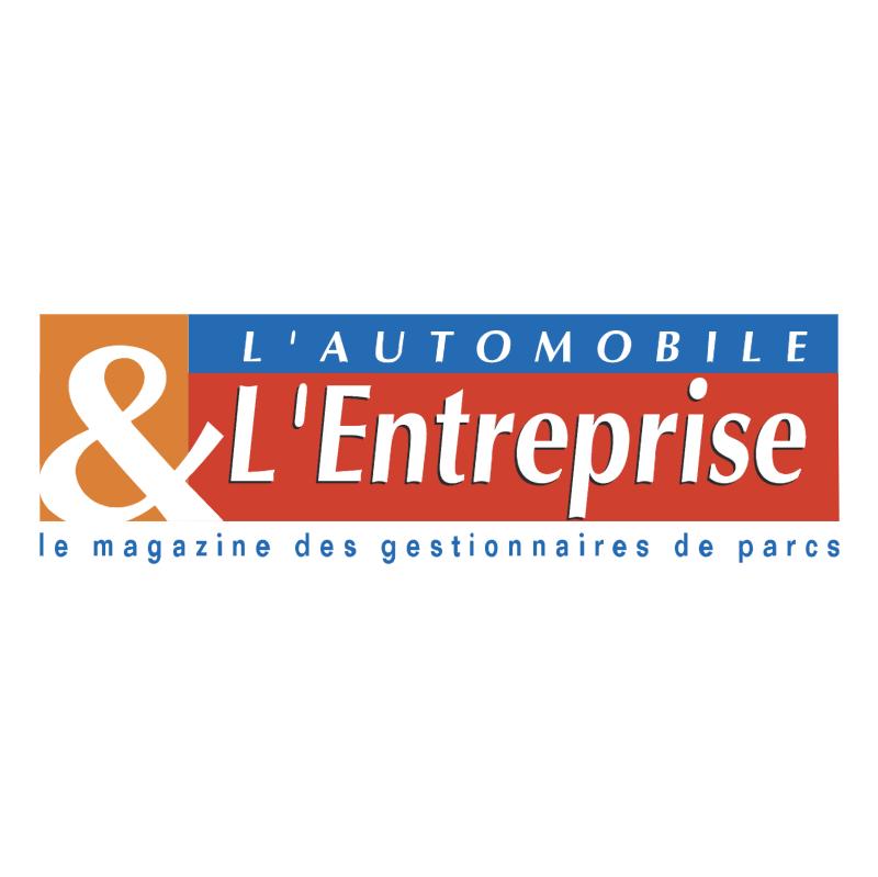 L'Automobile & L'Entreprise vector