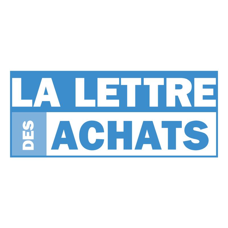 La Lettre Des Achats vector logo