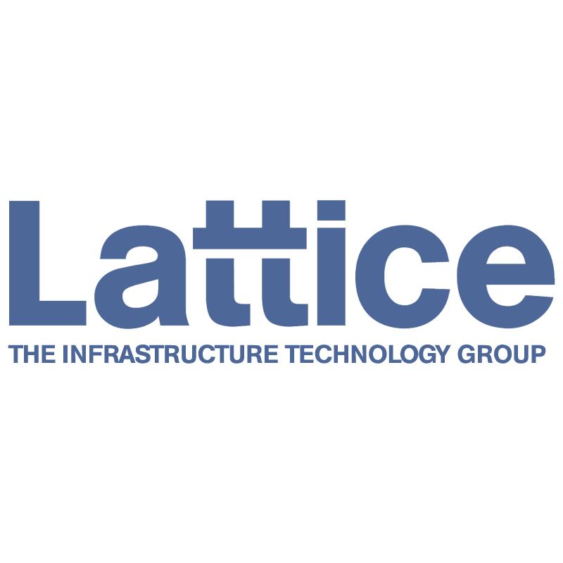 Lattice vector logo