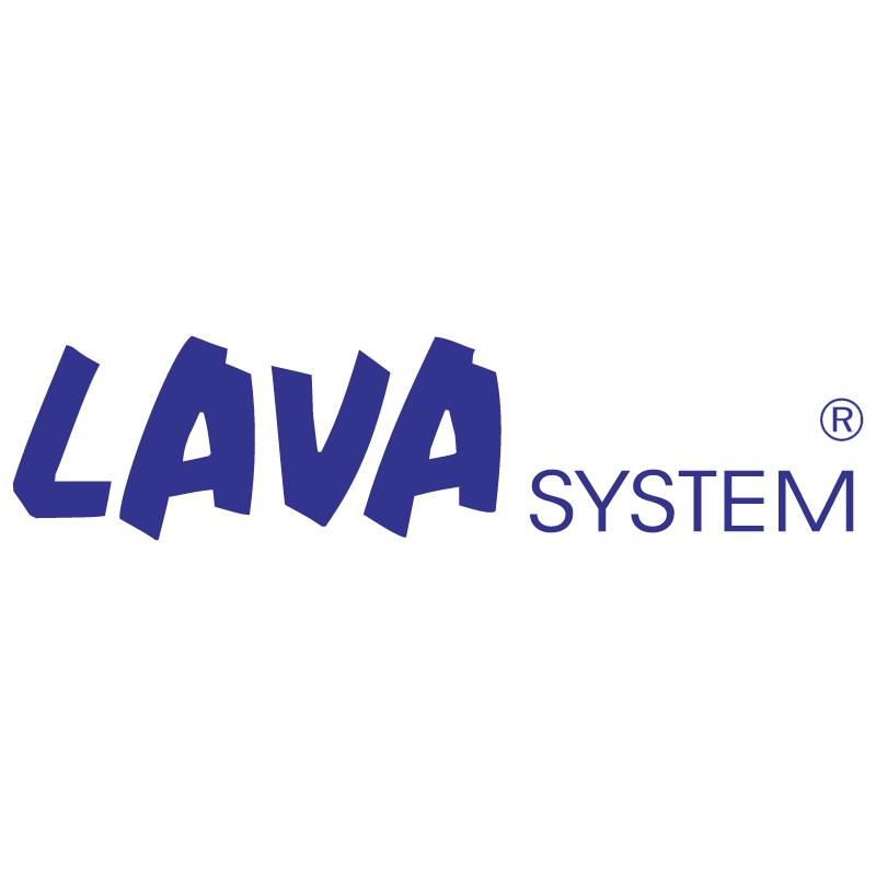 Lava System vector logo