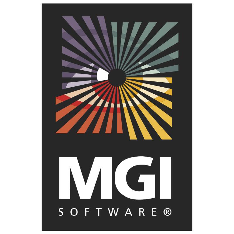 MGI Software vector