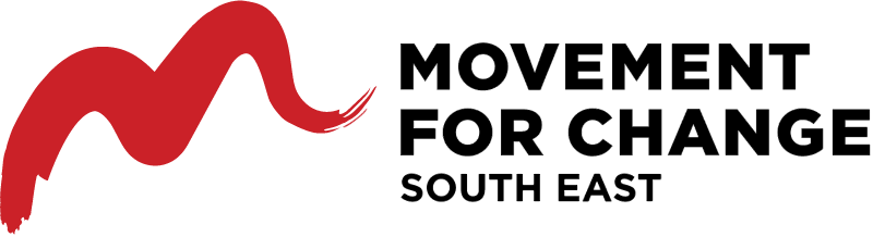 Movement for Change south east vector