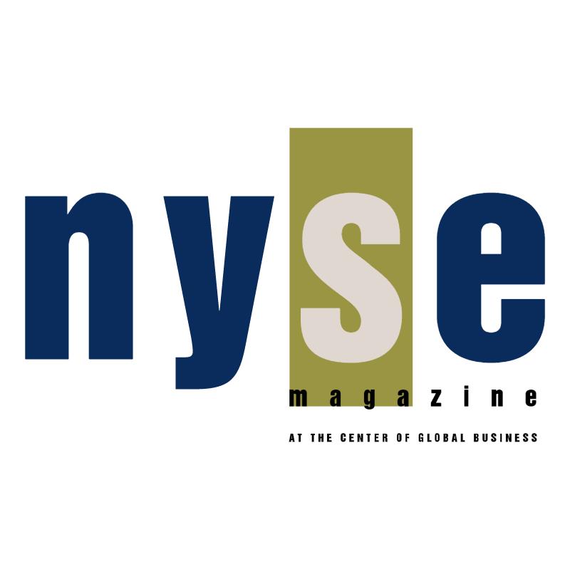 NYSE Magazine vector
