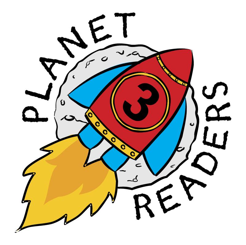 Planet Readers vector