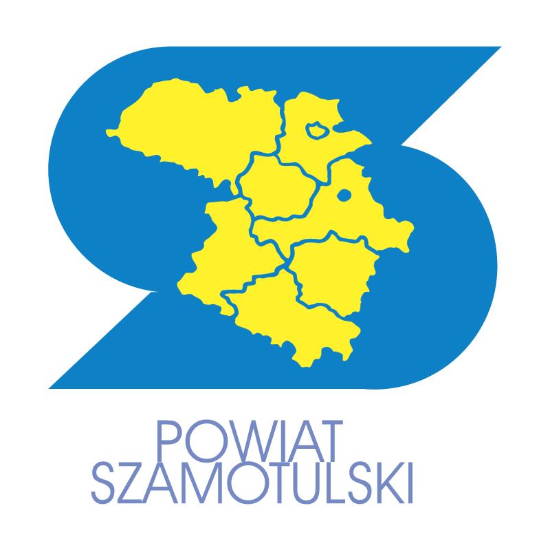 Powiat Szamotulski vector logo