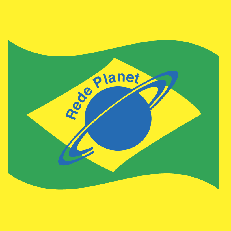 Rede Planet vector
