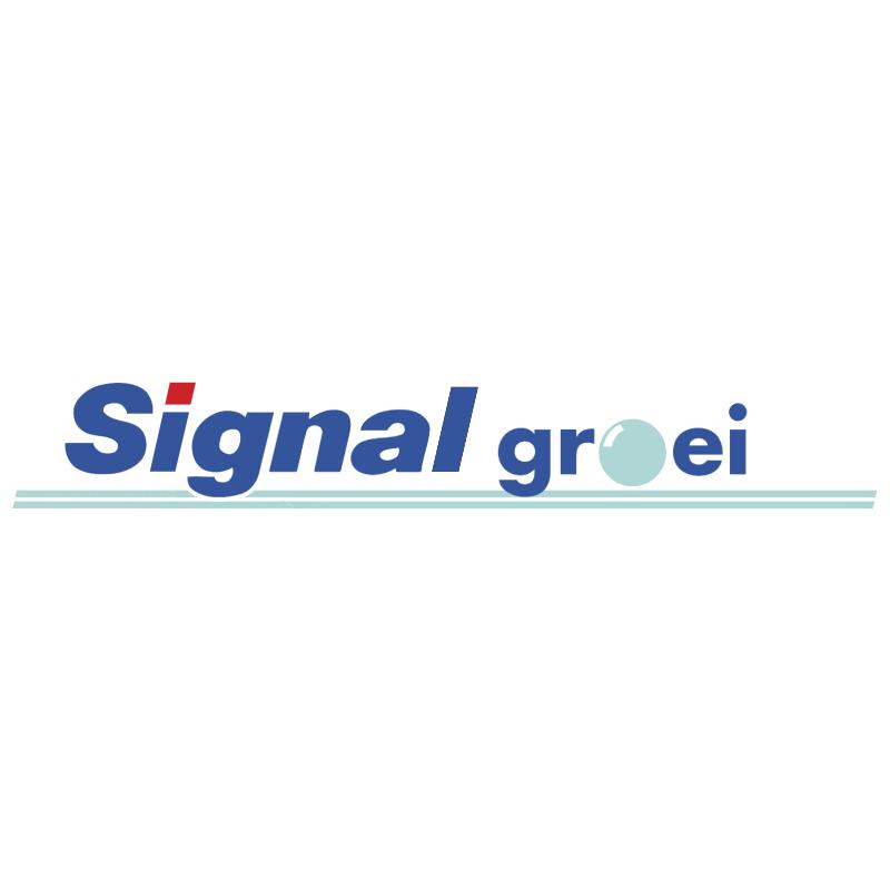 Signal Groei vector logo