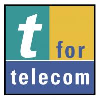 t for telecom vector