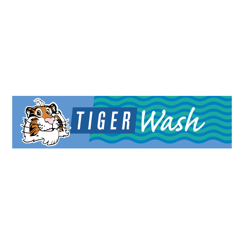 Tiger Wash vector