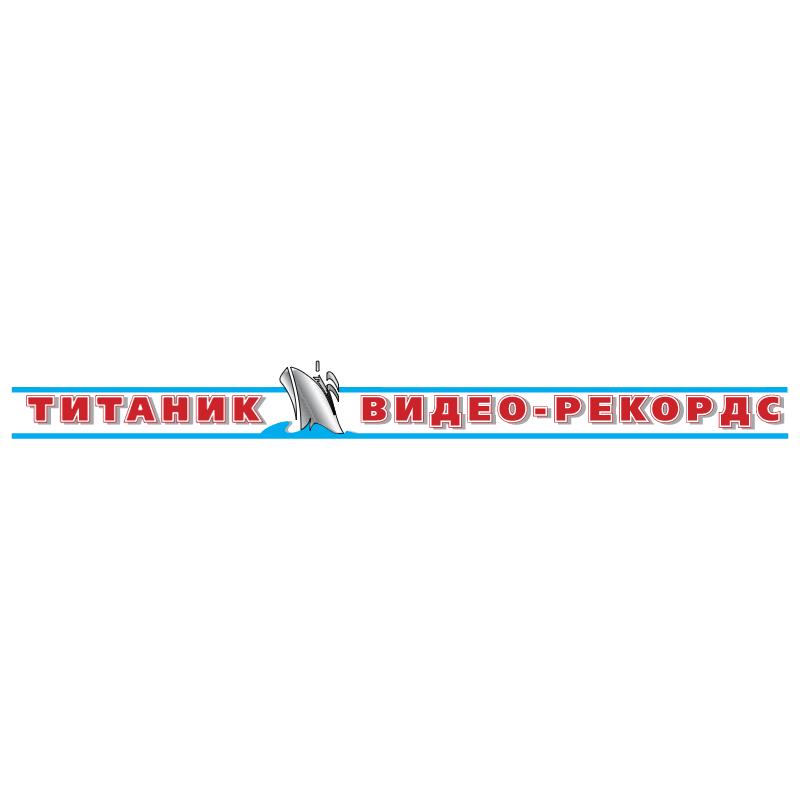Titanik Video Records vector logo