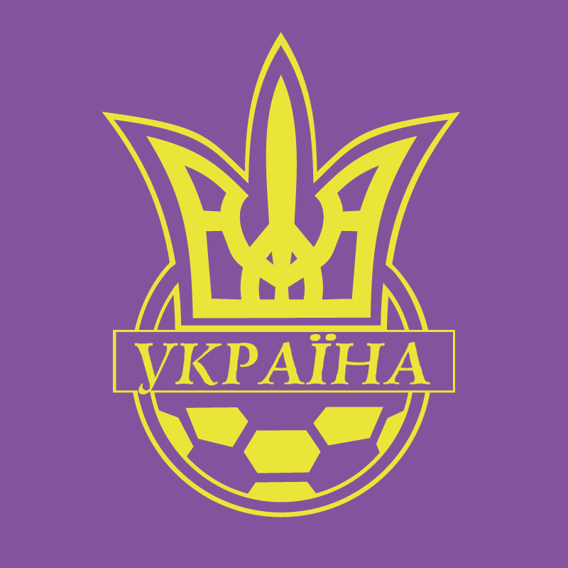 Ukraine Football Association vector
