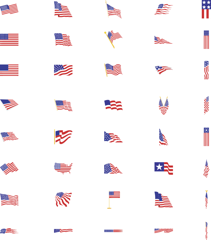 United States of America vector