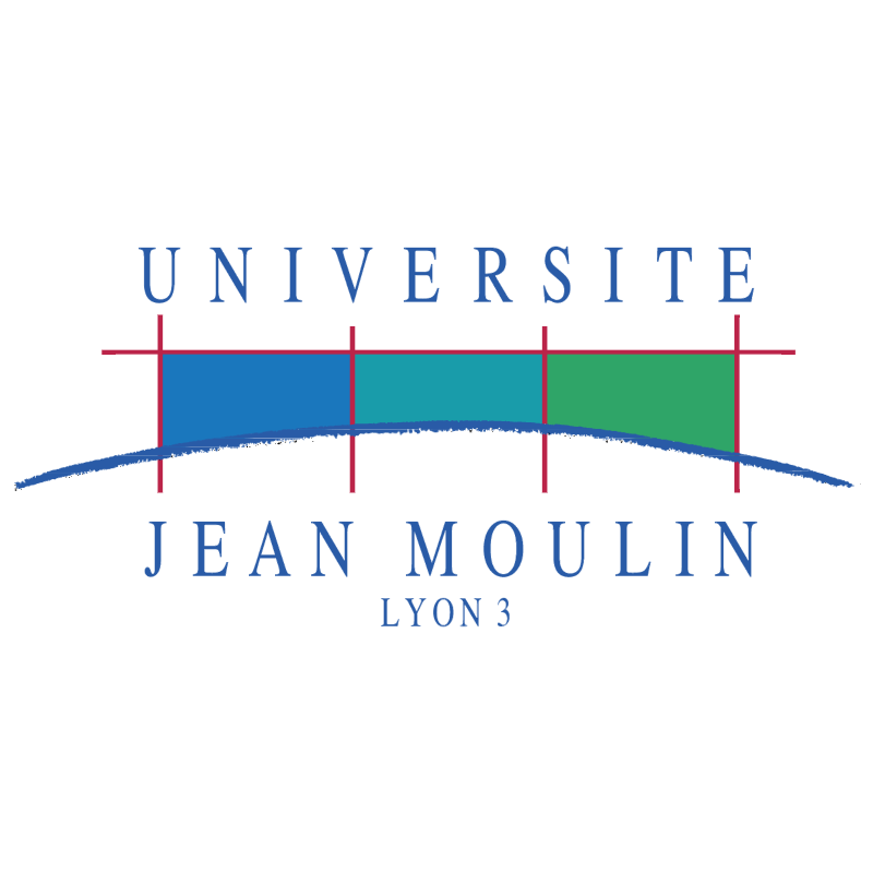Universite Jean Moulin Lyon 3 vector logo