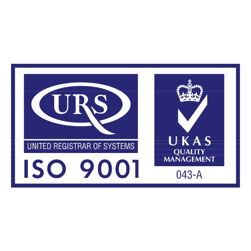 URS 9001 vector logo