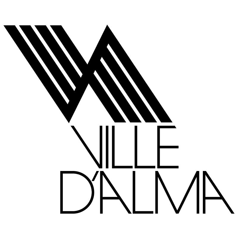 Ville dAlma vector