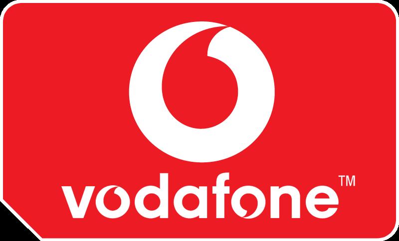 Vodafone SIM vector