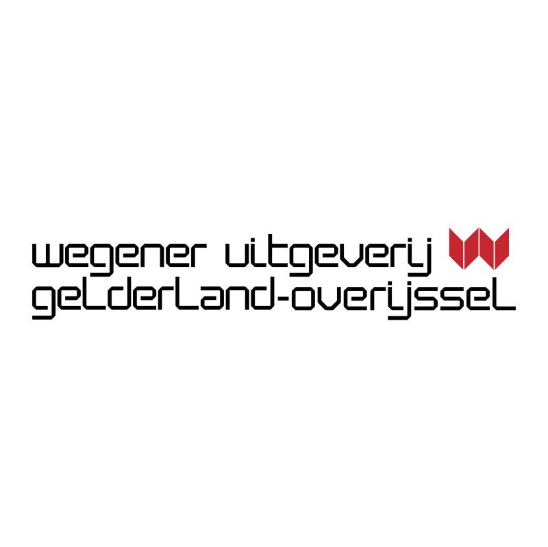Wegener Uitgeverij vector