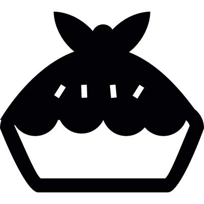 Meat Pie vector logo