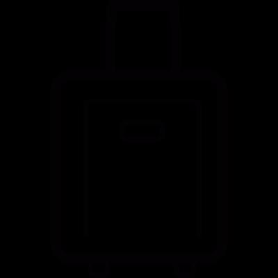 Suitcase vector logo
