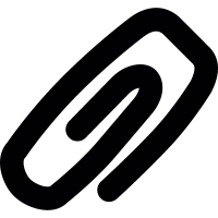 Alumminiun Paper clip vector