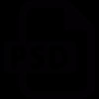 PSD format vector
