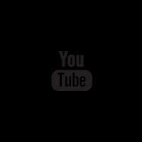 Follow me on Youtube social badge vector
