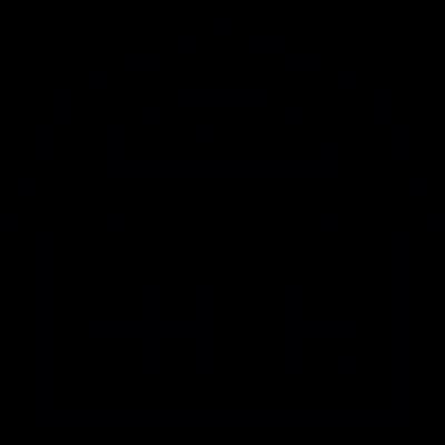 Big house vector logo
