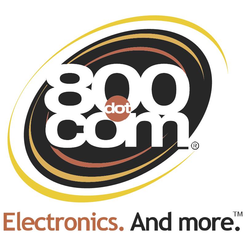 800 com vector