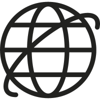 Internet Symbol vector