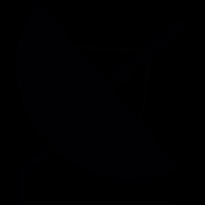 Parabolic Antenna vector logo