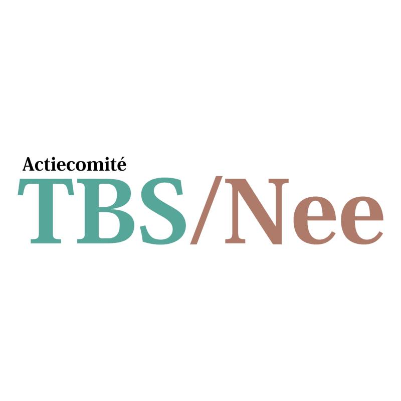 Actiecomite TBS Nee 78389 vector