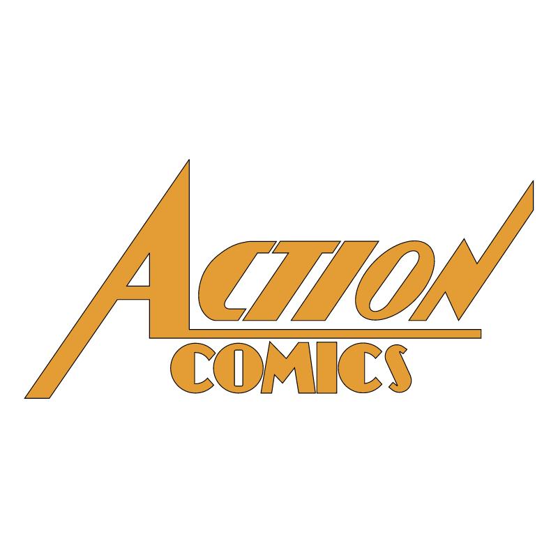 Action Comics vector logo