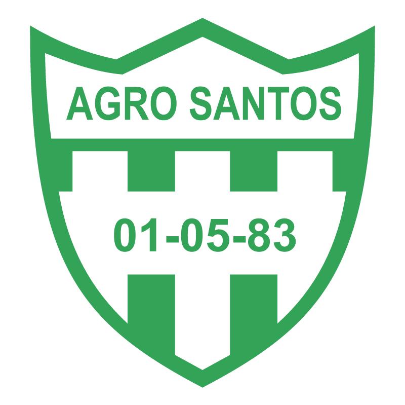 Agro Santos Futebol Clube de Porto Alegre RS vector