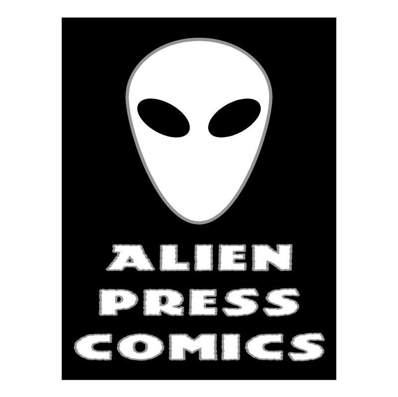 Alien Press Comics vector