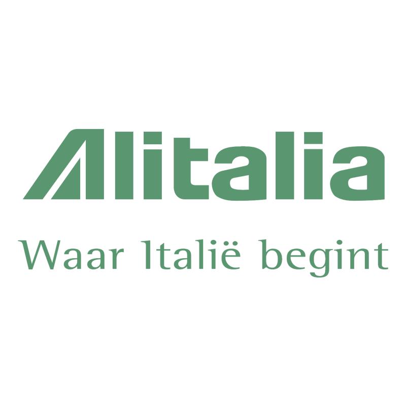 Alitalia 76311 vector