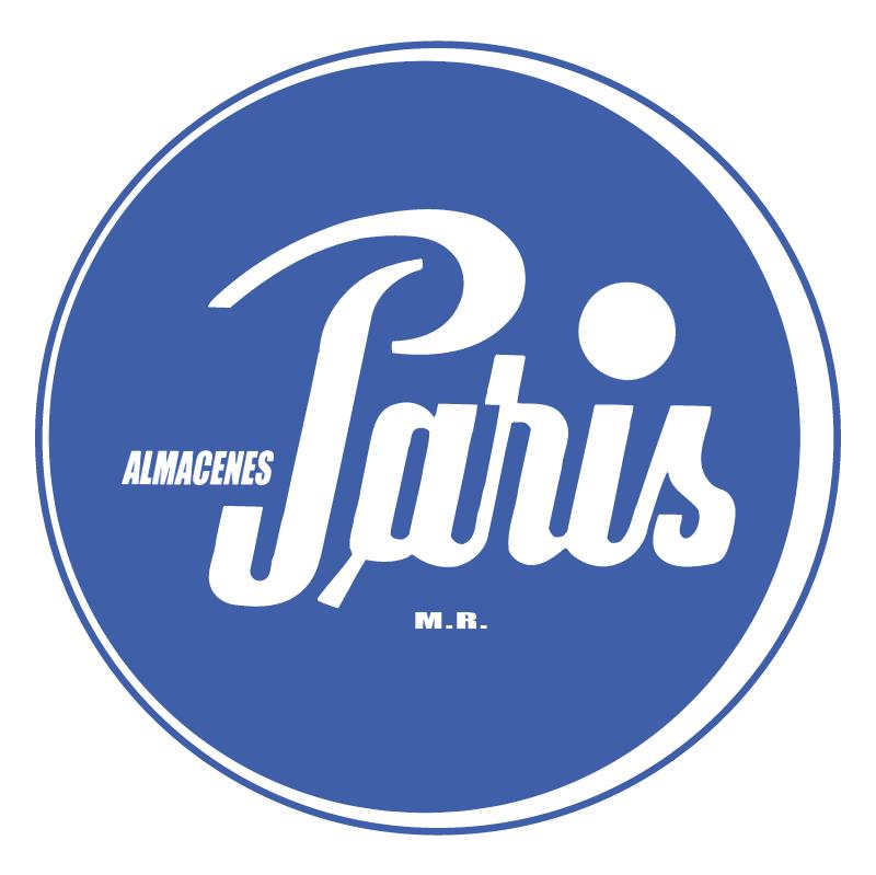 Almacenes Paris vector