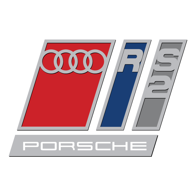 Audi RS2 Porsche vector