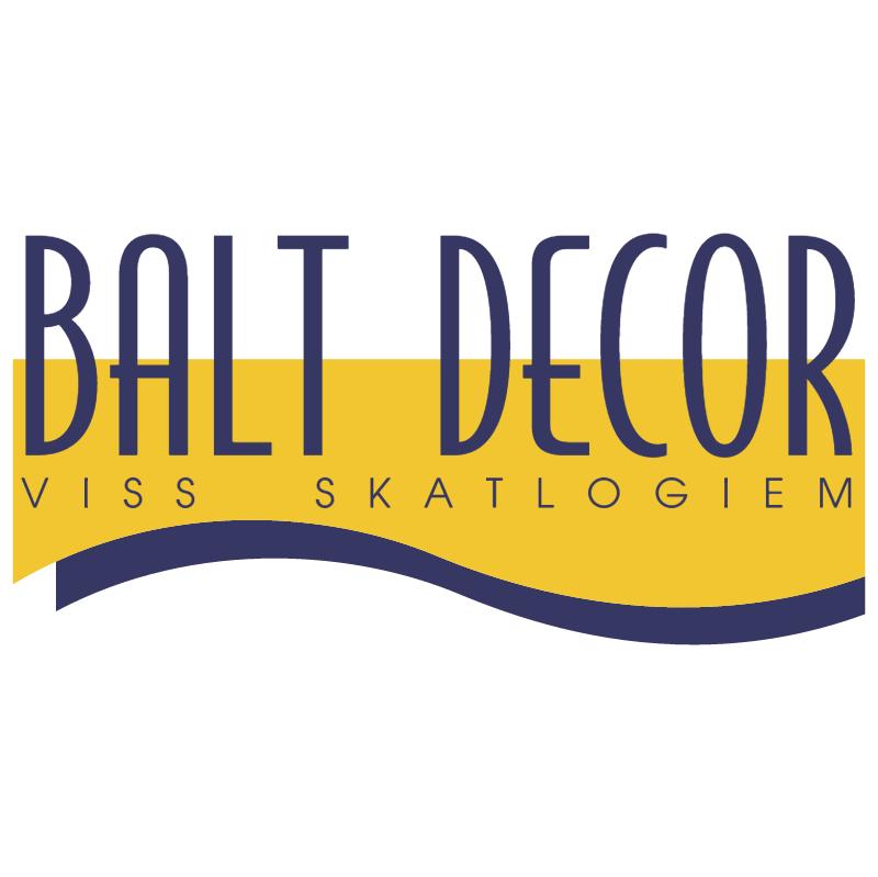 Balt Decor 27857 vector logo