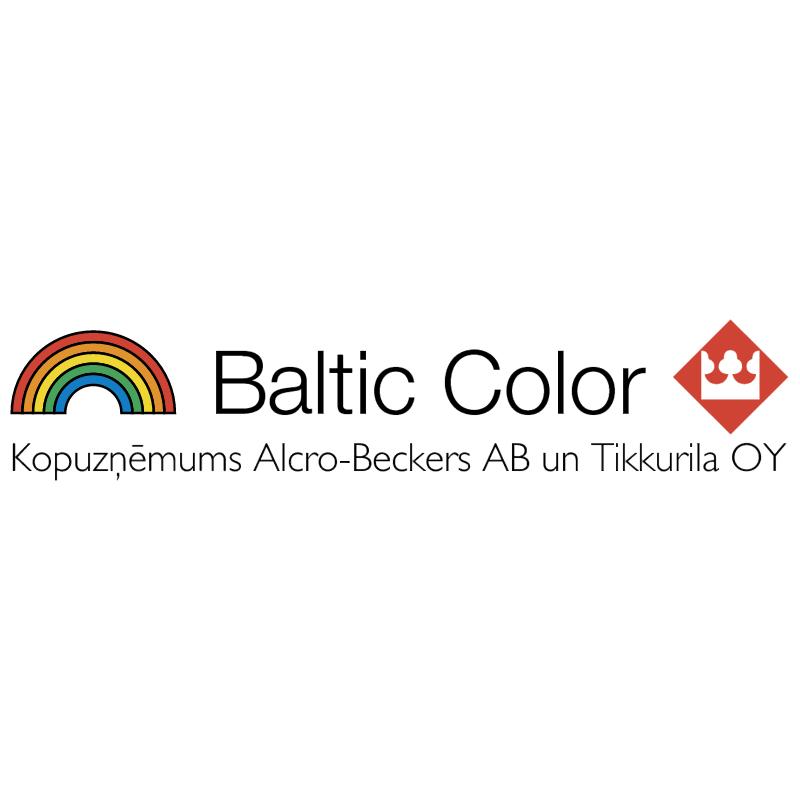 Baltic Color vector