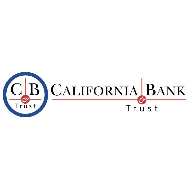 California Bank Trust vector logo