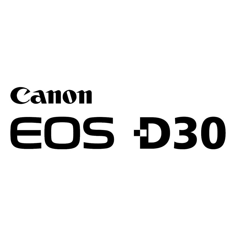 Canon EOS D30 vector