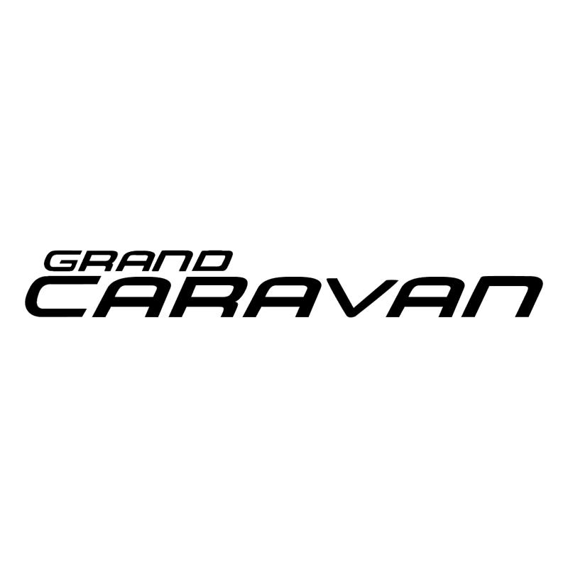 Caravan Grand vector logo