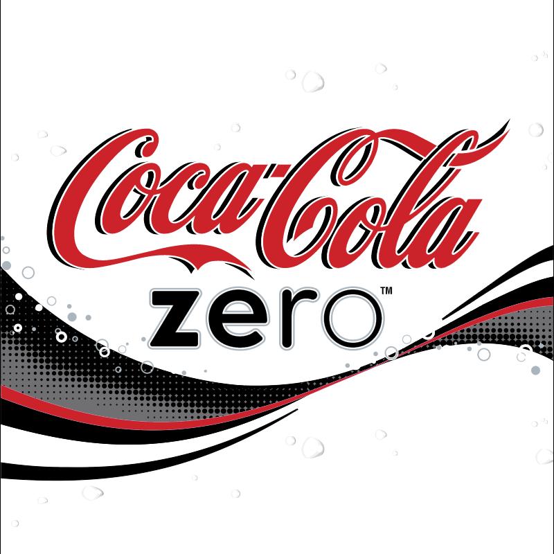 Coca Cola Zero vector